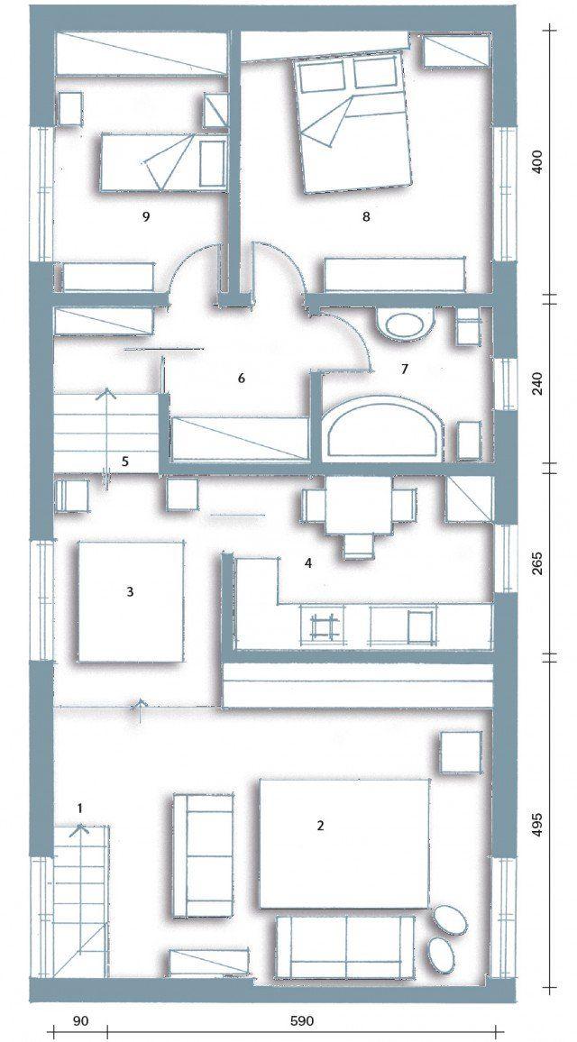 L 39 ex cascina diventa casa case planimetrie di case for Arredamento cascina
