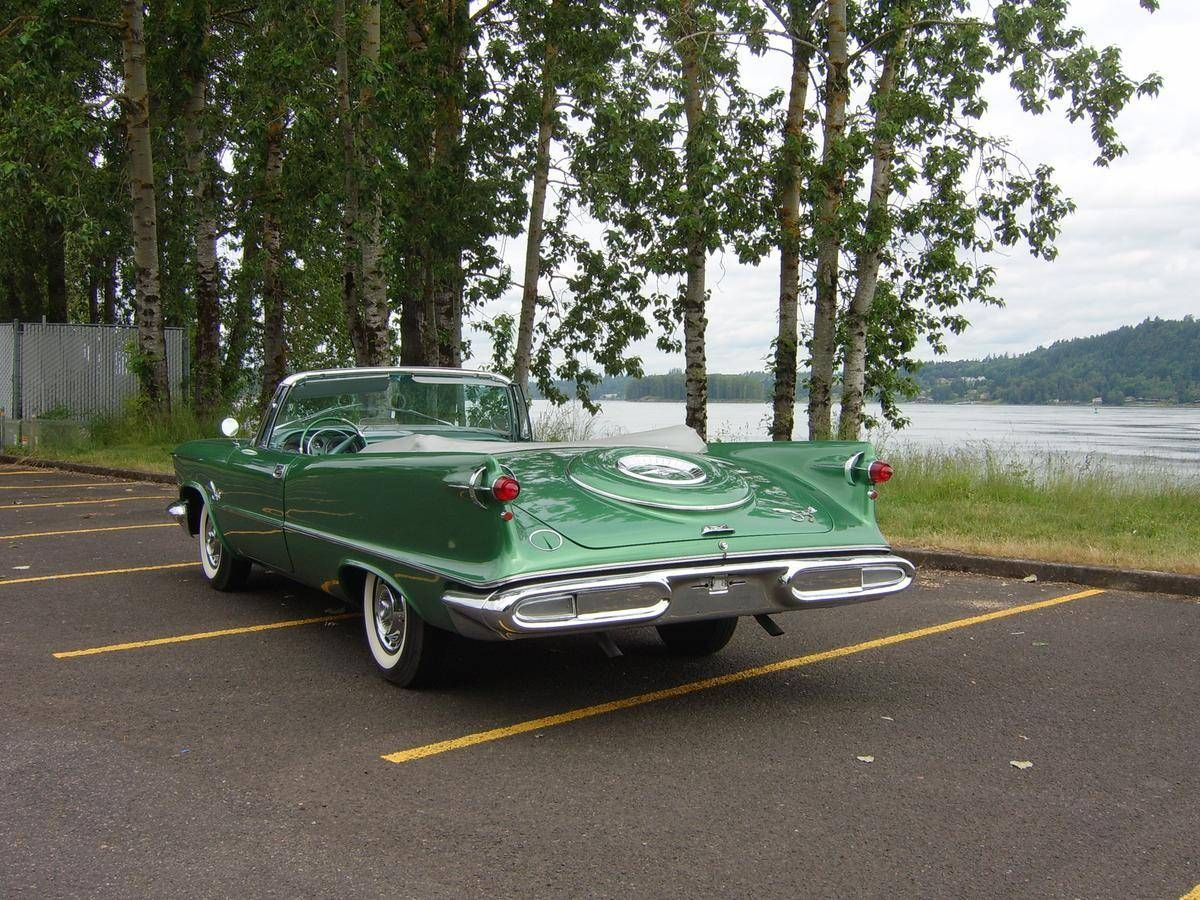 1958 Chrysler Crown Imperial Convertible With Images Chrysler
