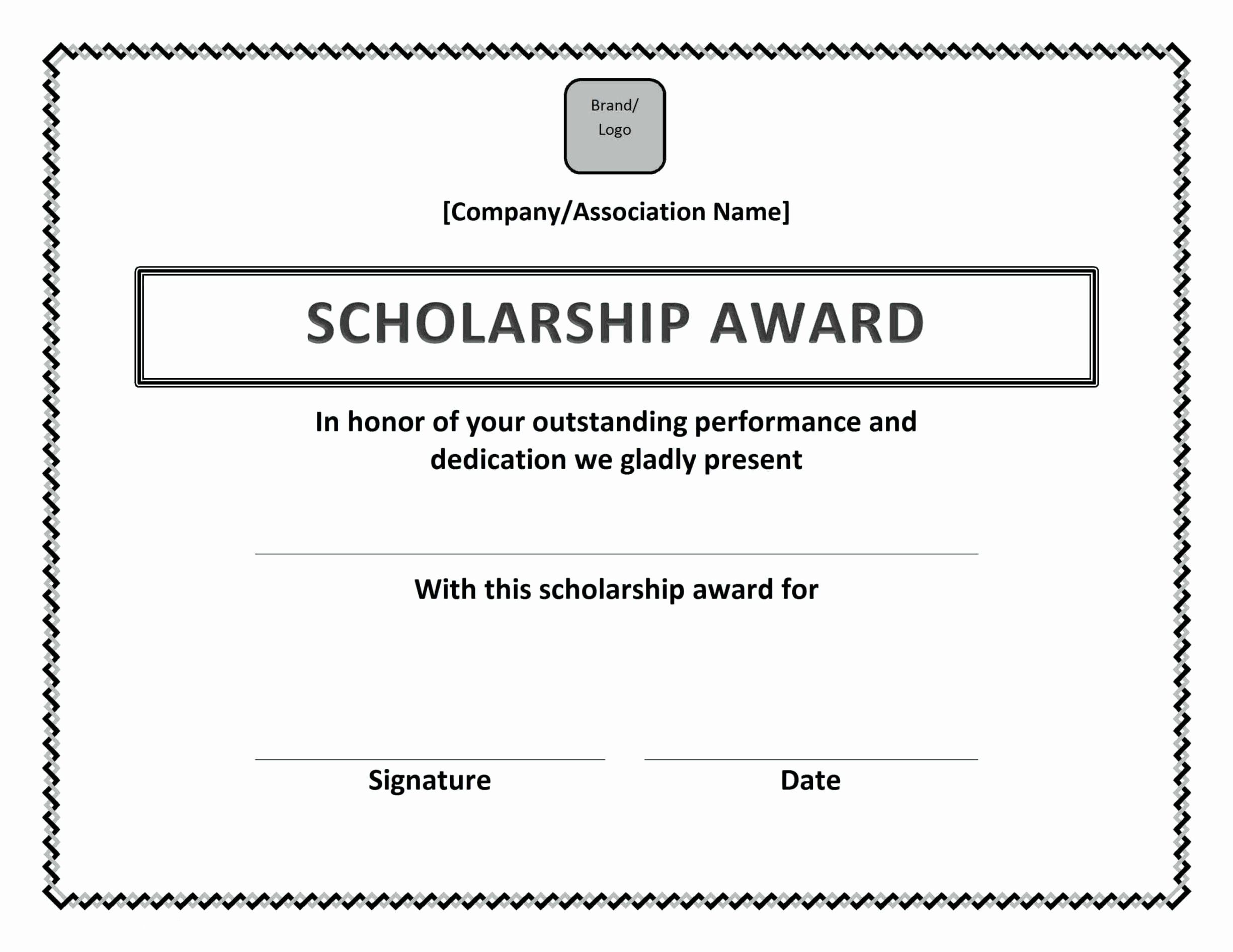 Scholarship Certificates Templates Free Unique Award Certificate Wording Ideas Template Up Awards Certificates Template Scholarships Birth Certificate Template Above and beyond certificate template