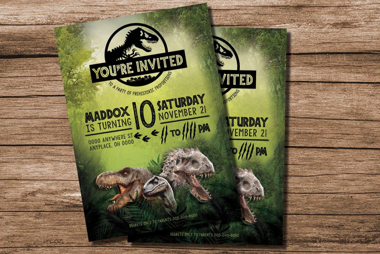 Jurassic Park Party Dinosaur Birthday 3rd Parties Ideas I