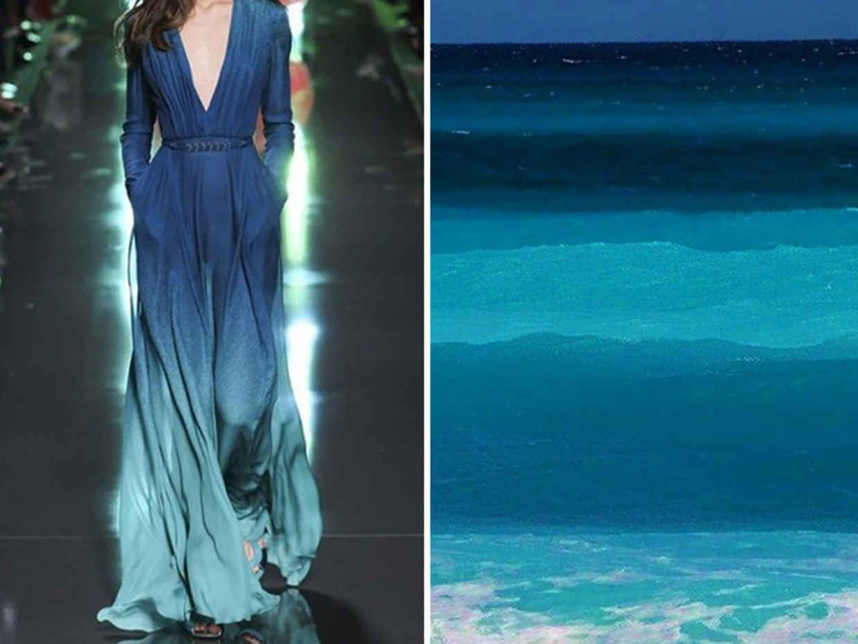 Artist Compares the Famous Designers' Dresses with the Amazing Photos of Nature - BlazePress