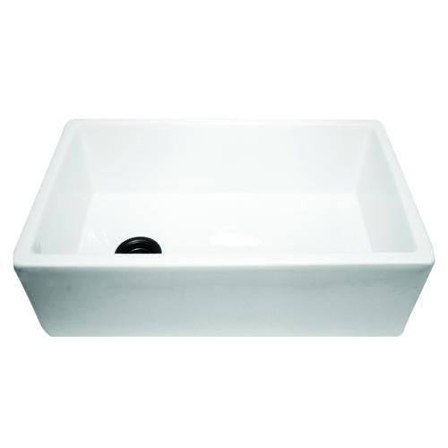 Nantucket Sinks' 30 Inch White Fireclay Farmer Sink Offset Drain Unique Menards Kitchen Sinks Inspiration