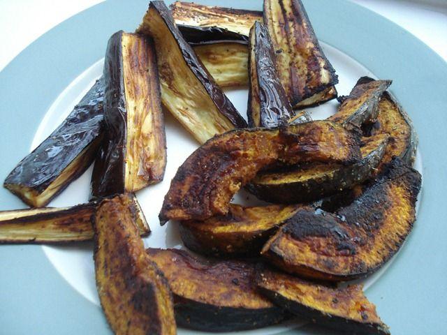 Lemon Garlic Roasted Eggplant