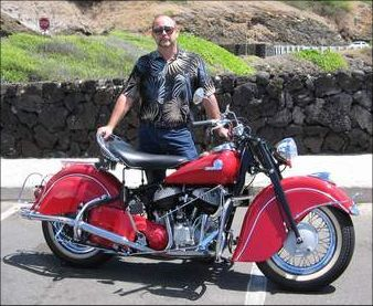 58 Years Of Indian Motorcycles Gallery Picture Of A 1946 Indian Indian Motorcycle Vintage Indian Motorcycles Scout Bobber