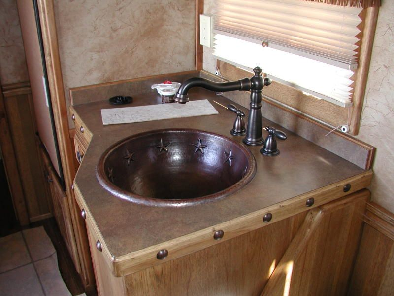 Cool Sink Faucet And Nail Heads