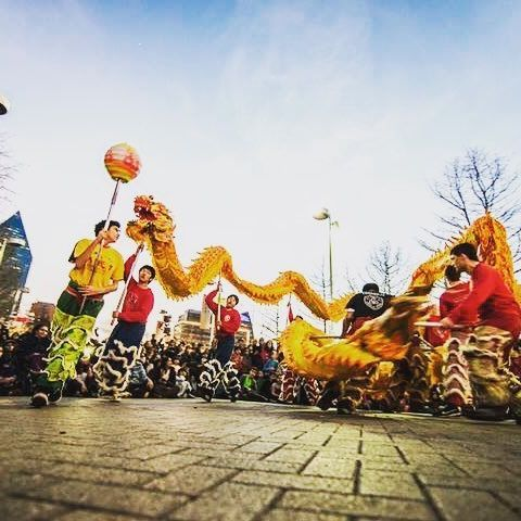Say goodbye to the Year of the Monkey and celebrate the Year of the Rooster at the @crowcollection Chinese New Year celebration 1/28/17!  #crowcollection #liondance #dragondance #calligraphy #facepaint #fortunetelling #kungfu #foodt