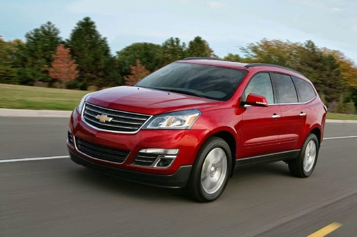 Chevrolet Earns Nine Edmunds Com Awards Chevrolet Traverse