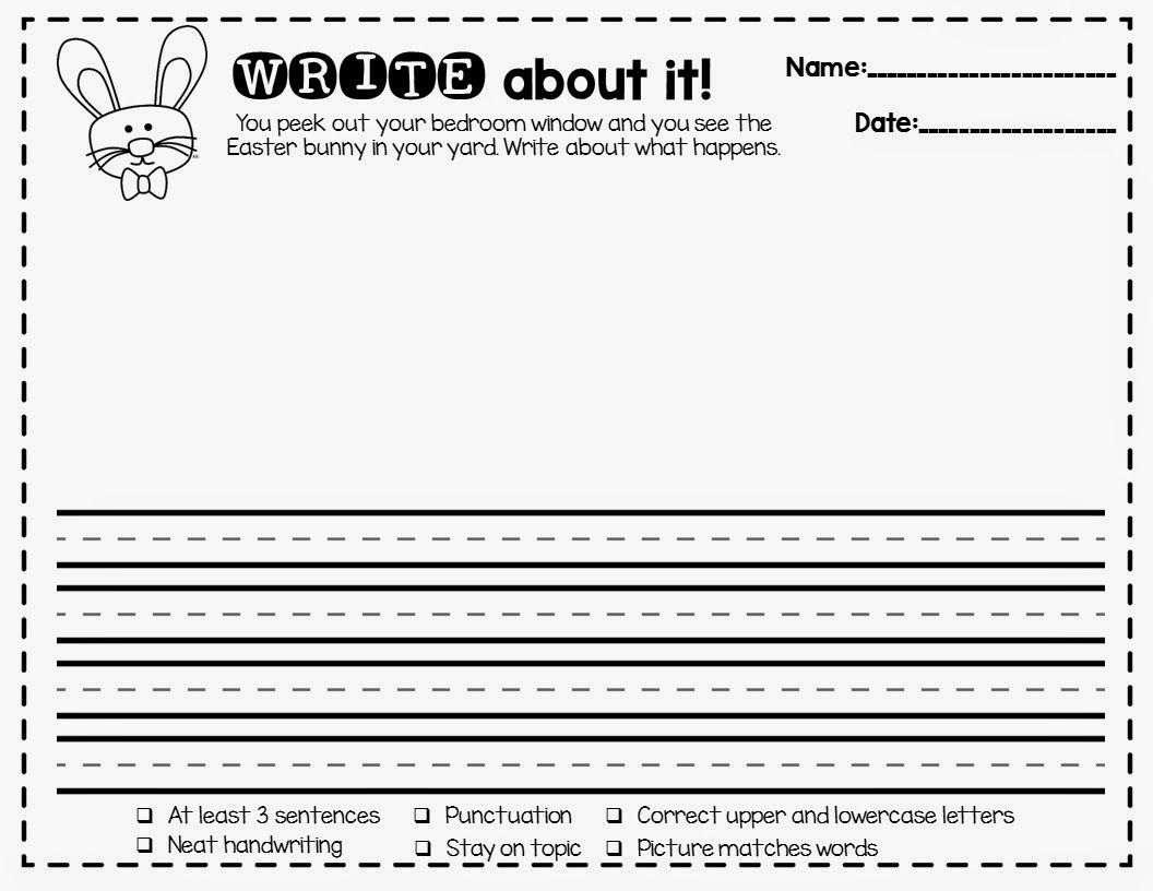 Spring Writing Prompts And Many Other Writing And Phonics Printables