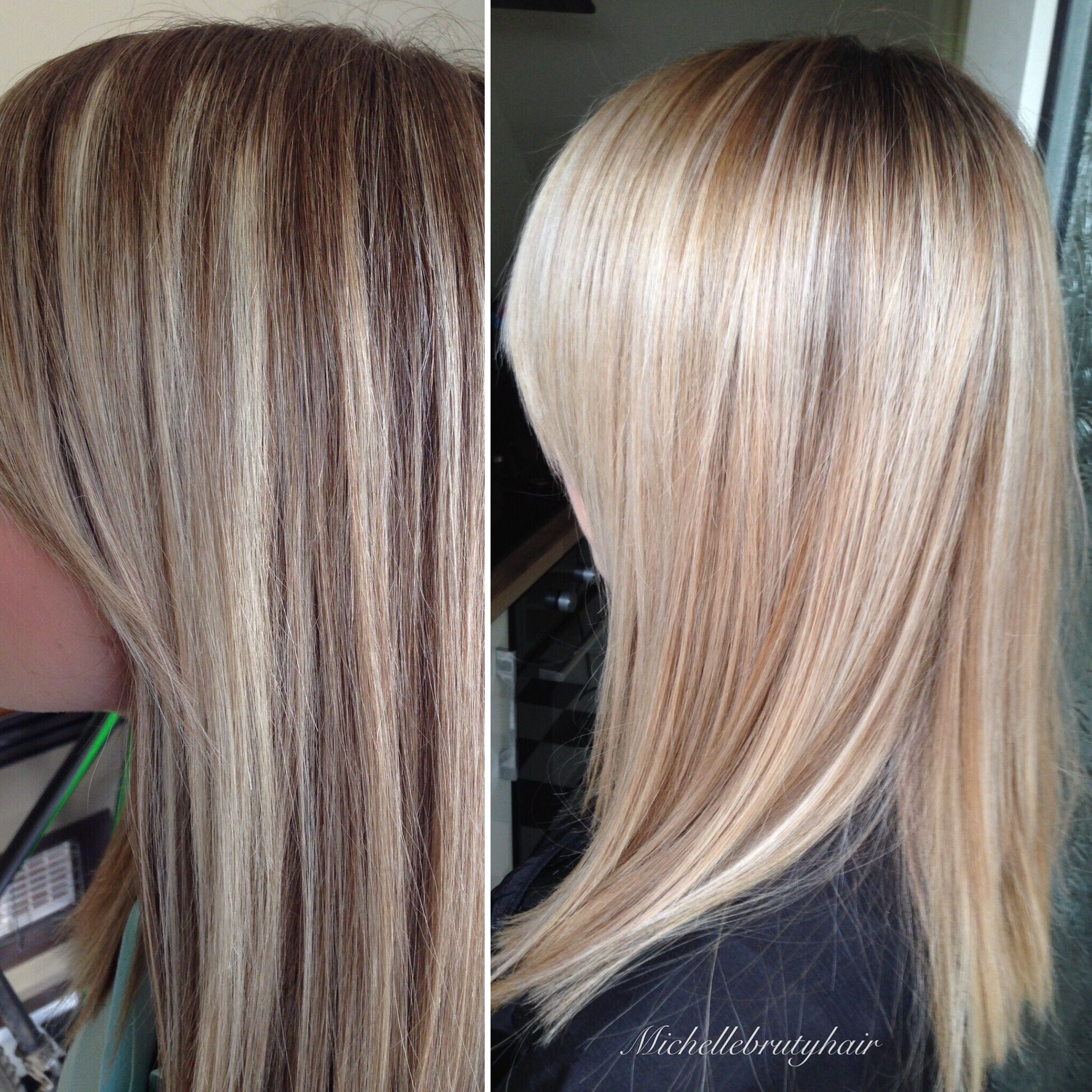 This client had been having cap highlights!! They were