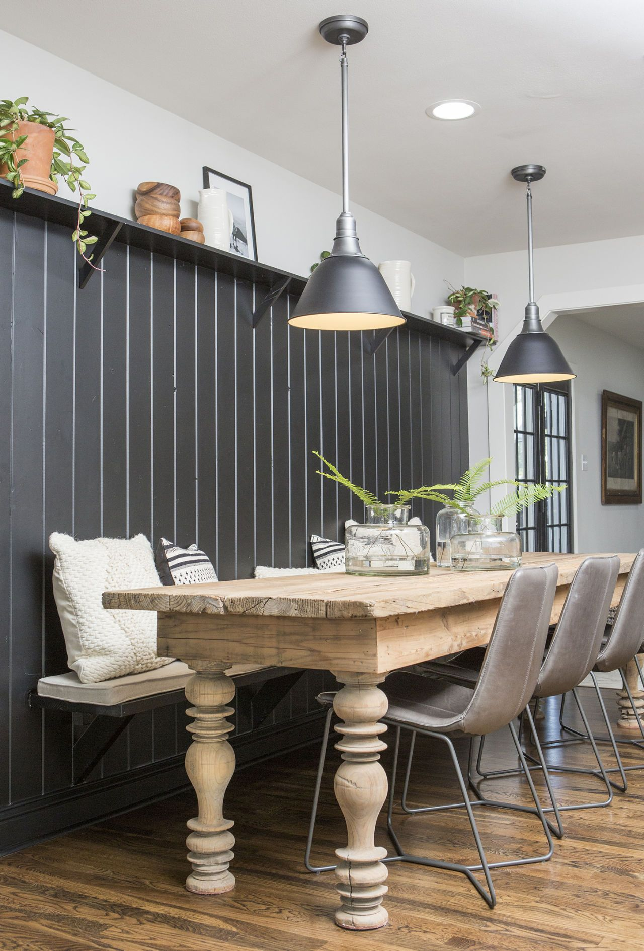 The Fixer Upper Home Featured On Last Week S Episode Is Already Back On The Market With Images Joanna Gaines Dining Room Fixer Upper Dining Room Farmhouse Dining Room