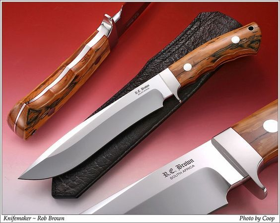 Rob Brown Knives Port Elizabeth South Africa Bowie Knife Browning Knives Knives And Swords