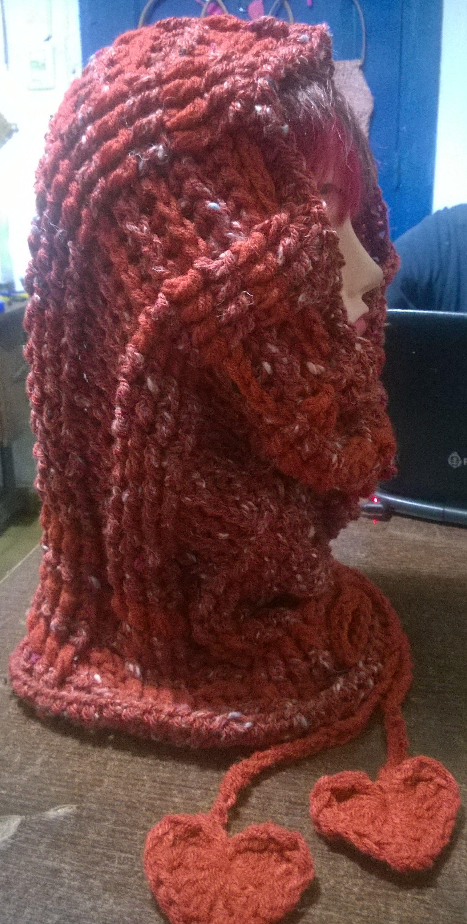 Bufanda capucha