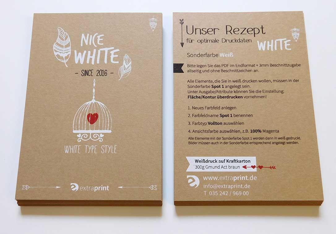 rezept zum weißdruck | einladungskarten online gestalten