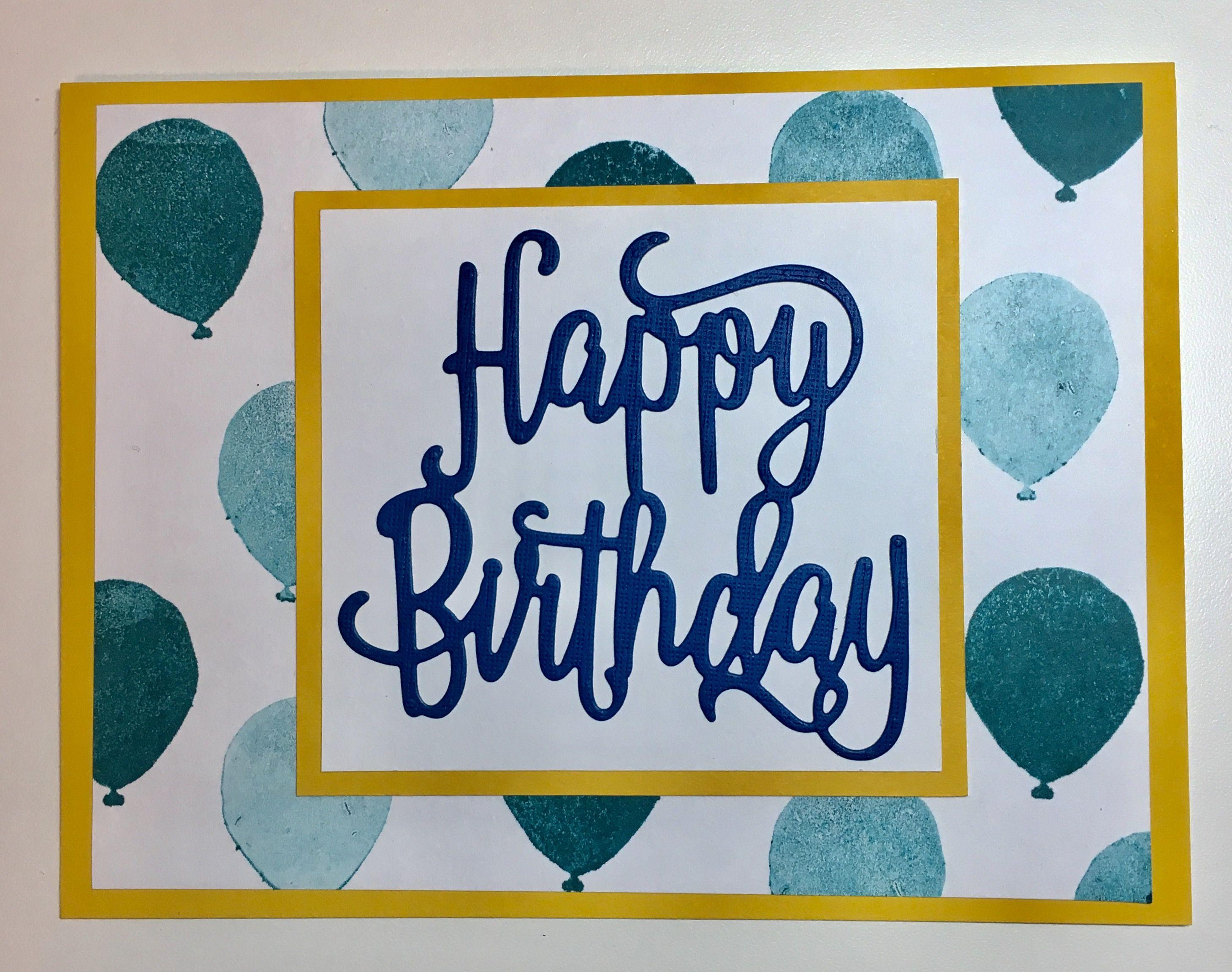 Guy birthday card my cards pinterest guy birthday guy birthday card bookmarktalkfo Gallery