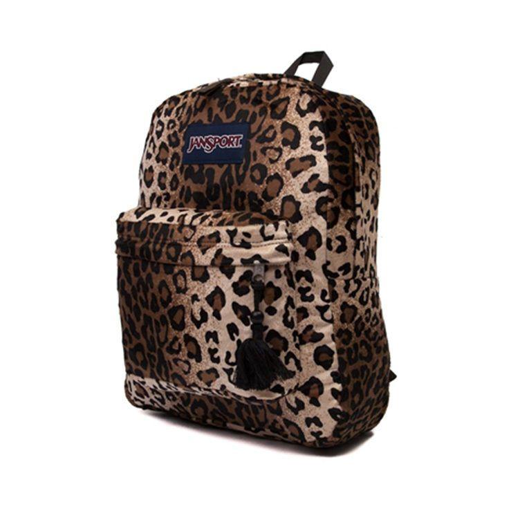 Cheetah Print Jansport Backpack – TrendBackpack