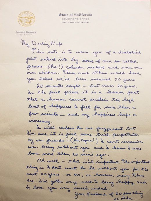 Amazing Letters From Presidents   Wedding Anniversary
