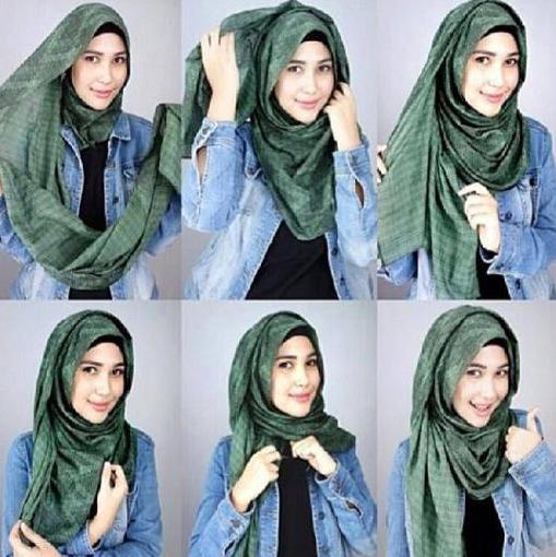 Ini Dia Tutorial Hijab Simple Untuk Para Remaja Kekinian