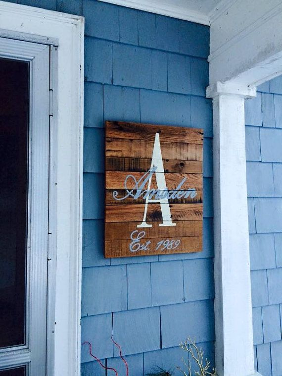 Best 25 Personalized Wooden Signs Ideas On Pinterest