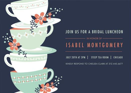 Wedding Invitations Shops: Customizable Bridal Shower Invitations In