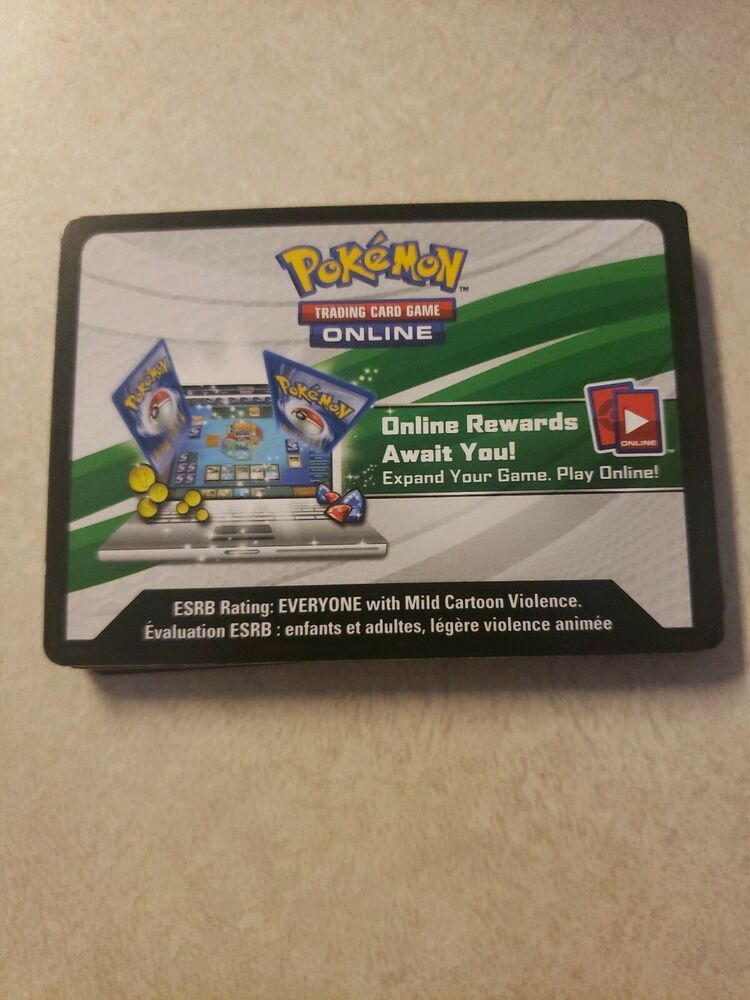 Pokemon 20 TCG Online Codes Mix Lot unused emailed fast