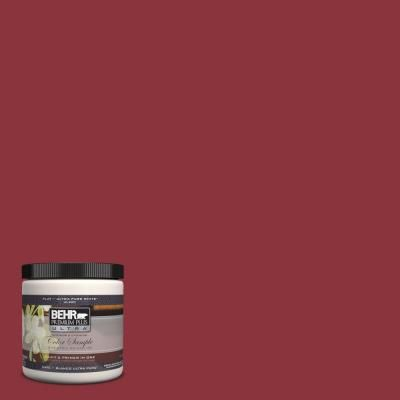 BEHR Premium Plus Ultra 8 Oz. Home Decorators Collection January Garnet  Interior/Exterior Paint Sample