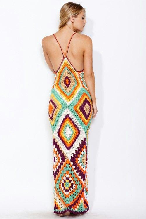 Resultado de imagen para helen rodel crochet vestidos playa ...