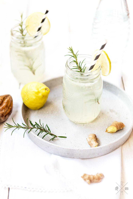 ginger lemon fizz