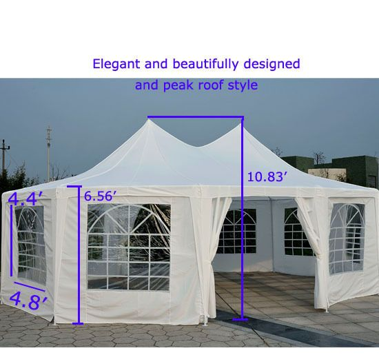 Details About Two Styles Marquee Tent Large Size Premium
