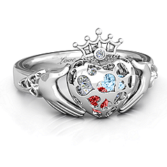 Caged Hearts Claddagh Ring #jewlr