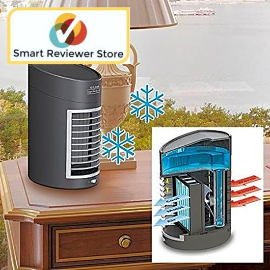 Portable Evaporative Air Cooler Fan Portable Home Office Small Air Conditioner Ideaworks Smallest Air Conditioner Air Cooler Fan Portable Air Cooler