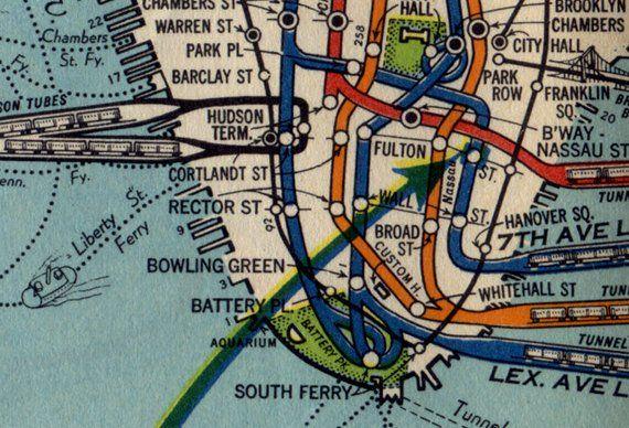 Nyc Subway Map Shirt.Vintage 1939 Nyc Subway Map Shirt All Over Print Tee Mta Tshirt