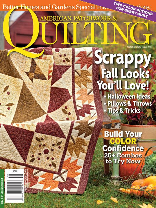 American Patchwork & Quilting® Magazine October 2012