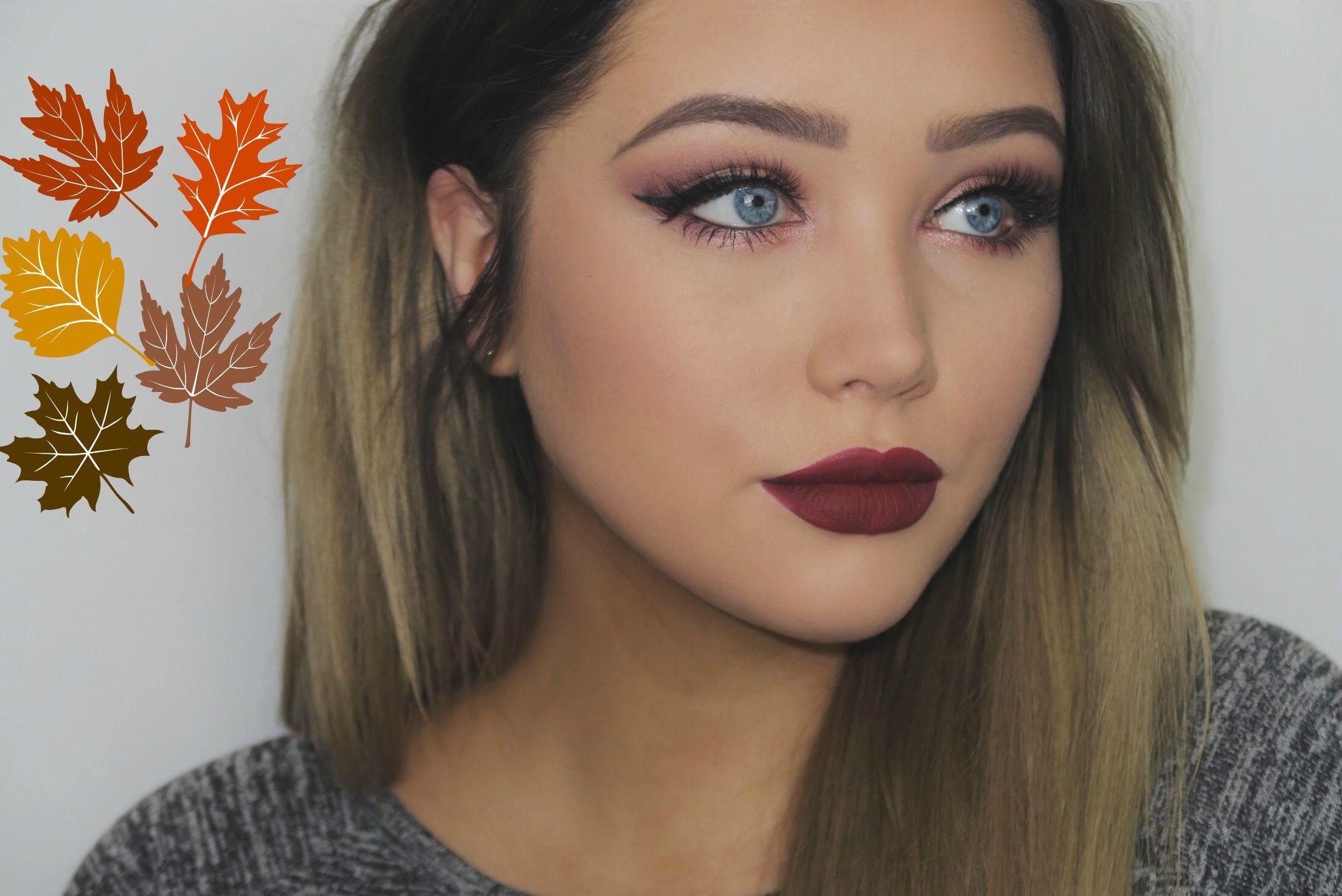 Fall Eye Makeup Look Makeup tutorial for beginners, Fall