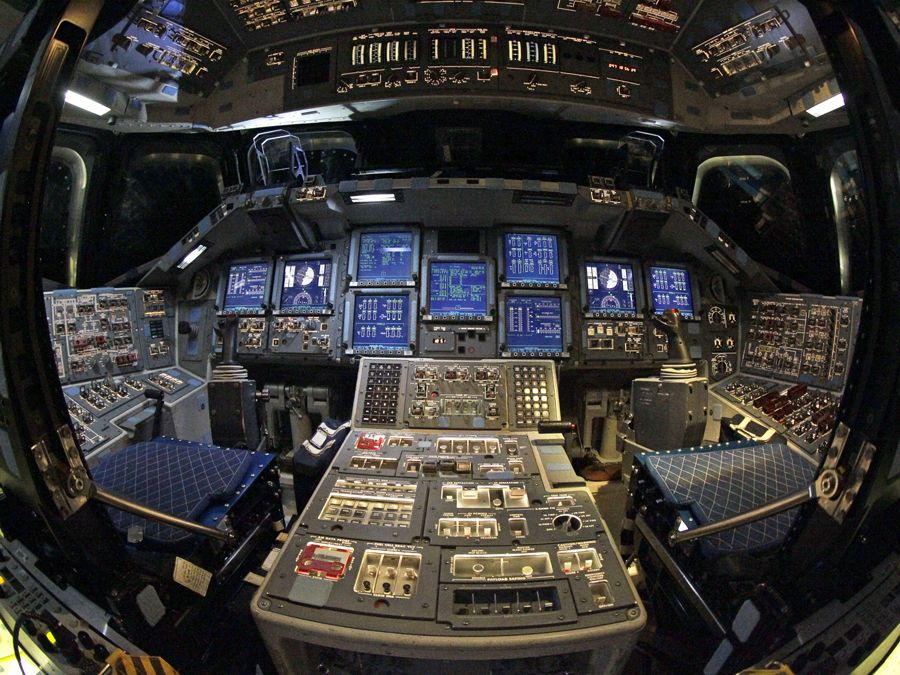 space shuttle cockpit takeoff - photo #4