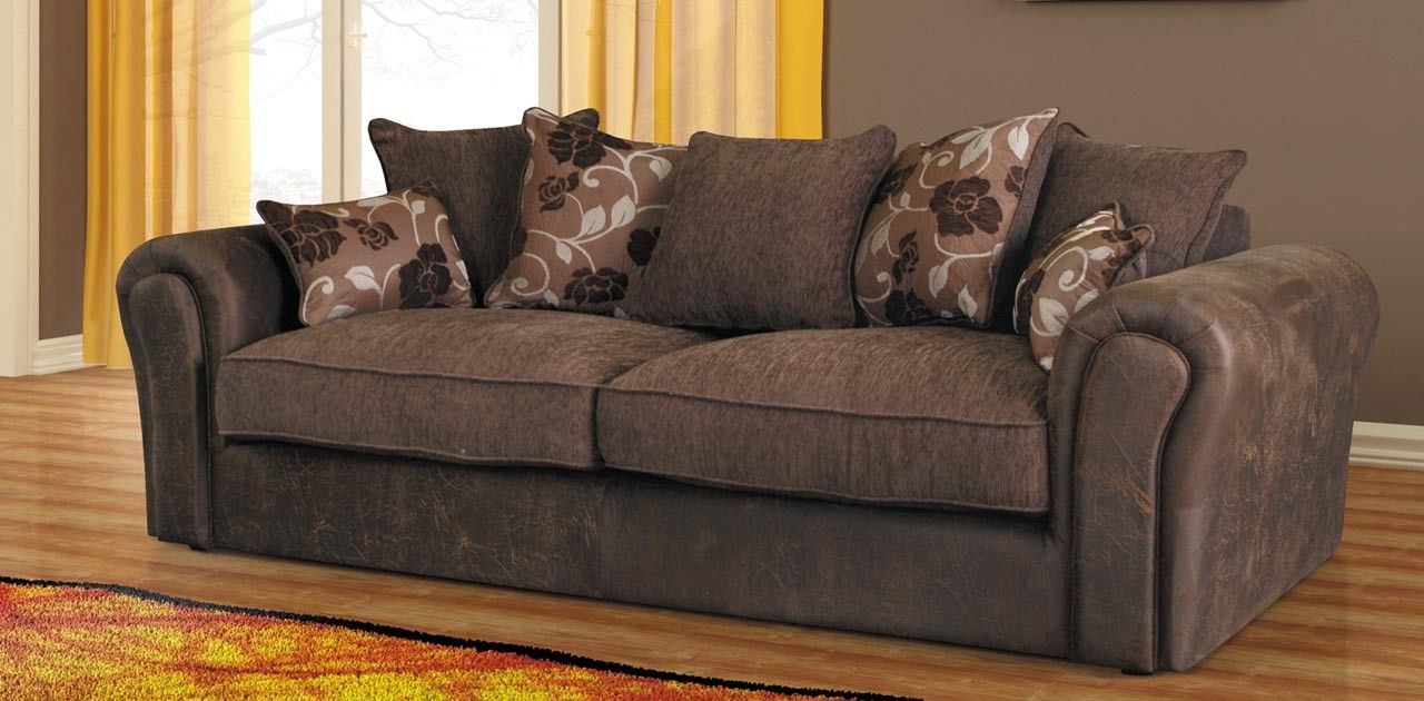 baron sofa brown 3 seater sofa fabric sofas sofa sofa fabric rh pinterest com
