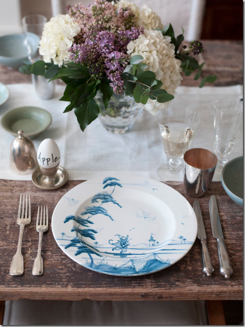 Gwenyth Paltrow Easter table