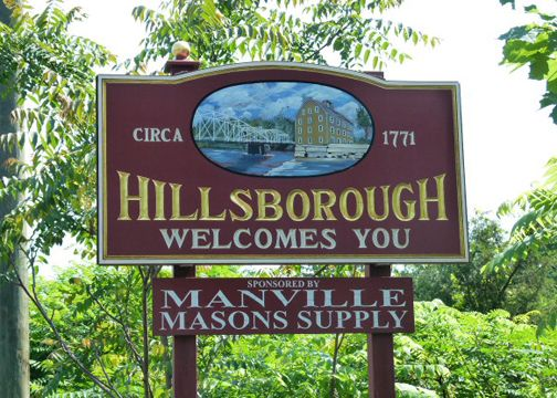 welcome to hillsborough nj remember seeing that sign so many times