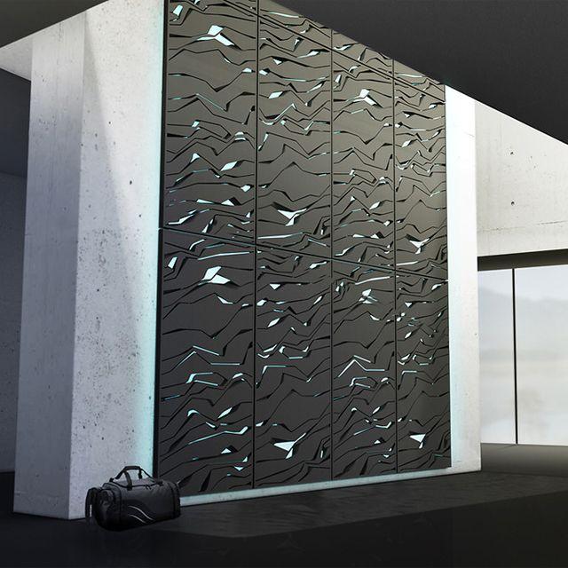Laser cut panels Nova Rock Climbing Wall by Lunar loft Pinterest