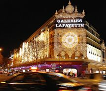 Inspiring picture christmas lights, galeries lafayette, glamorous, gold, lights. Resolution: 640x427 px. Find the picture to your taste!