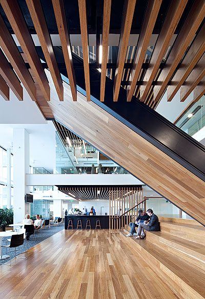 Aecom Brisbane Workplace Australian Institute Of Architects