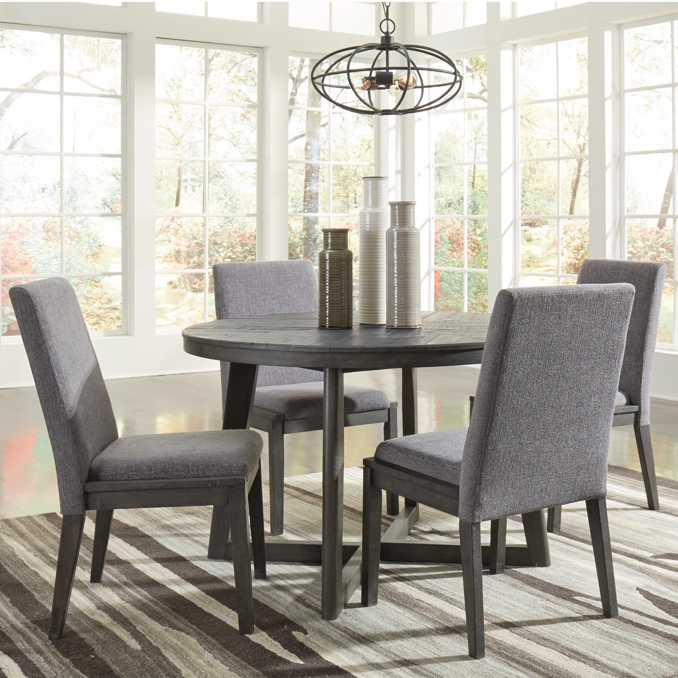 Besteneer Contemporary Five Piece Chair and Table Set by ...