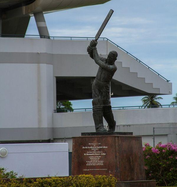 O Cricket é considerado esporte nacional de Barbados.