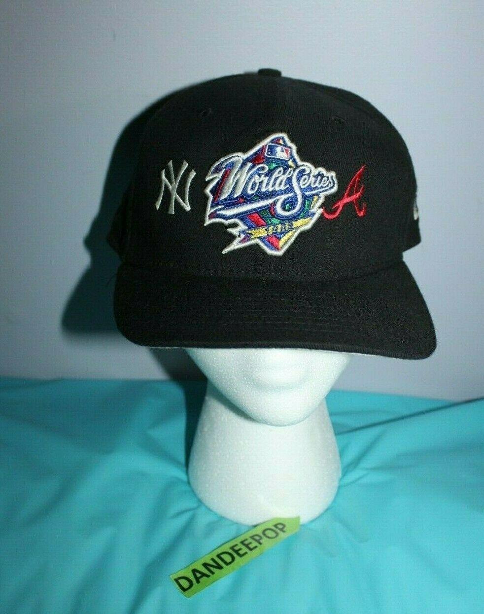 New York Yankees Atlanta Braves World Series 1998 New Era Mlb Baseball Hat Cap Atlanta Braves World Series Atlanta Braves New York Yankees