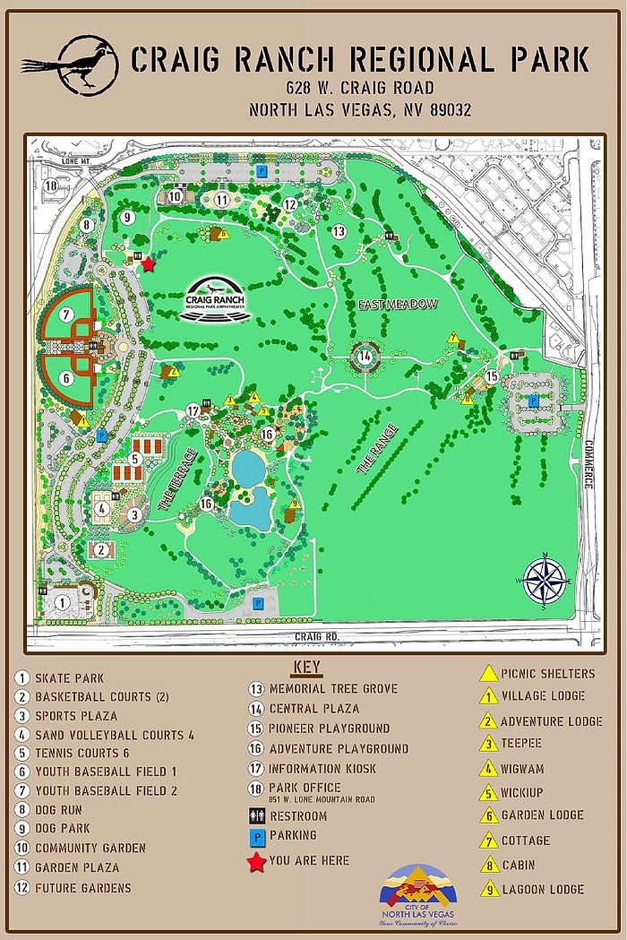 Craig Ranch Regional Park Updated 2 Craig Ranch Las Vegas Family Region
