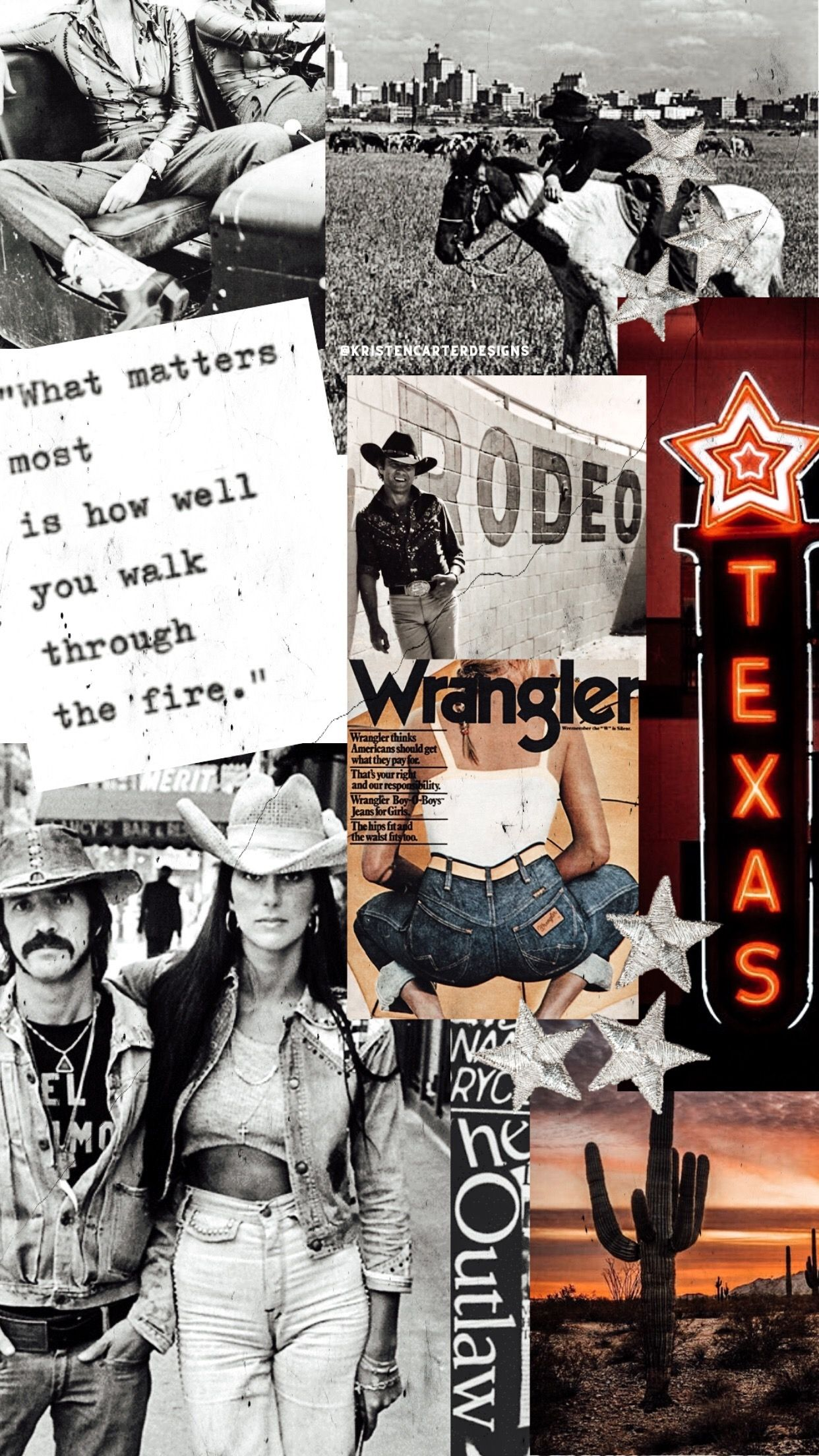 Retro Texas Western Photography Western Aesthetic Country Backgrounds