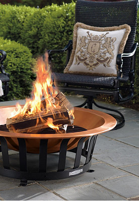 Copper Fire Pit Stunning To