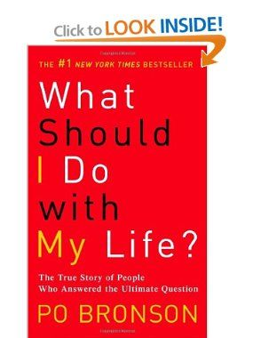 What Should I Do with My Life?: The True Story of People Who Answered the Ultimate Question: Po Bronson: 9780345485922: Amazon.com: Books