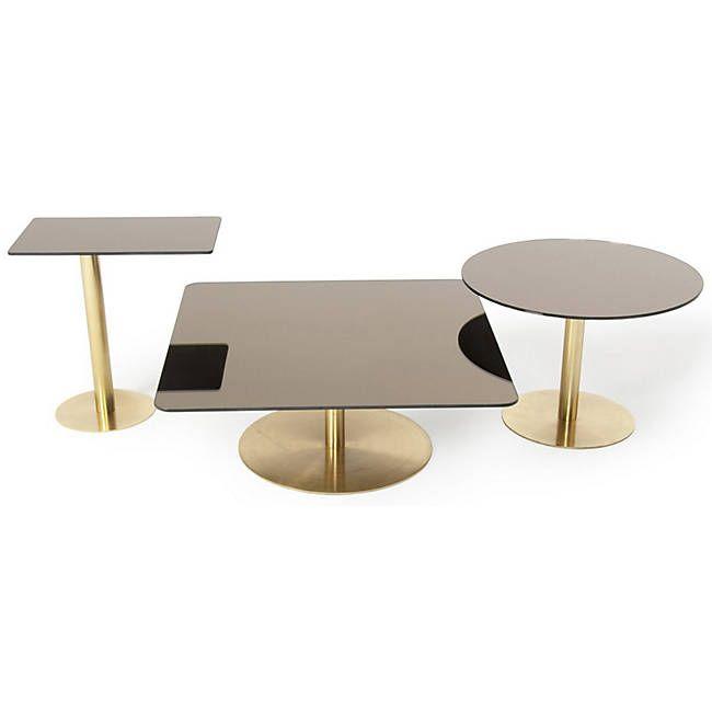 Flash Tables By Tom Dixon Koffietafel Bijzettafel Vierkante
