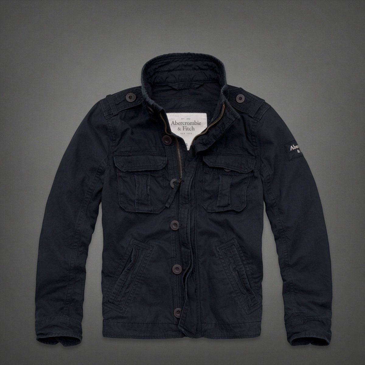 Mens Blue Mountain Jacket Mens Outerwear Abercrombie Co Uk Jackets Men S Coats Jackets Mountain Jacket [ 1200 x 1200 Pixel ]