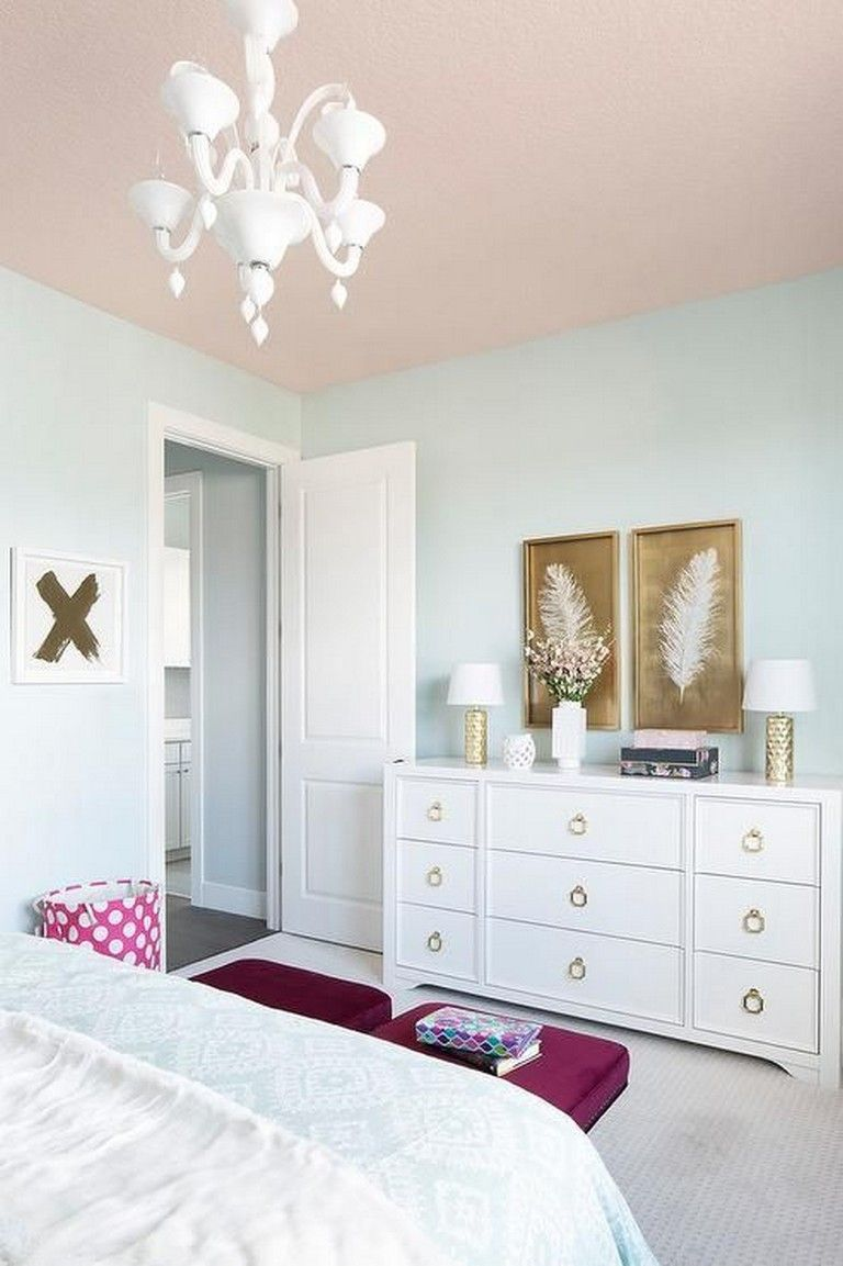 75+ Best Pink White And Gold Bedroom Ideas images